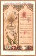 Souvenir De L'Abbaye Notre-Dame D'IGNY (Marne) - Celui Qui Porte Dieu Dans Son Coeur Porte Partout Son Paradis ... TBE - Devotion Images