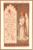Souvenir De L'Abbaye Notre-Dame D'IGNY (Marne) - Quel Beau Jour Est Celui Qui Commence Pour Nous Sur La Terre ... TBE - Devotion Images