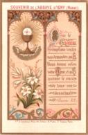 Souvenir De L'Abbaye Notre-Dame D'IGNY (Marne) - Que Le Seigneur Remplisse Toutes Vos Demandes, Qu'Il Vous Donne ... TBE - Devotion Images