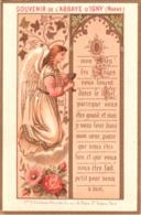 Souvenir De L'Abbaye Notre-Dame D'IGNY (Marne) - O Mon Dieu, Les Anges Vous Louent Dans Le Ciel, Parce Que ... TBE - Devotion Images