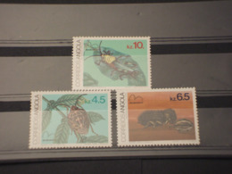 ANGOLA - 1983 INSETTI 3 VALORI - NUOVI(++) - Angola