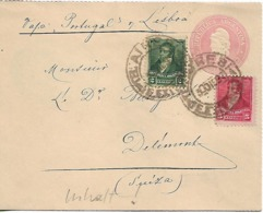 ARGENTINA 1899 Cover From Buenos Aires To Suisse 2 Stamps COVER USED - Argentine