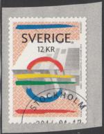 Sweden 2014 Used Sc 2720 12k Bildmuseet, Umea - Crease - Used Stamps