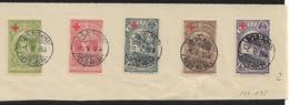 ETIOPIA - 1945. Croce Rossa. Set Complet 5 Val. - Etiopía
