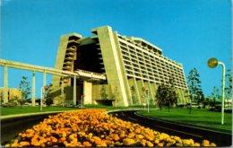 Walt Disney World Contemporary Resort 1973 - Disneyworld