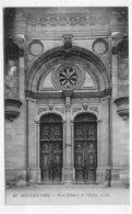 MONTBELIARD - N° 22 - PORTE D' ENTREE DE L' EGLISE - CPA NON VOYAGEE - Montbéliard