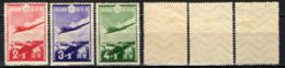 GIAPPONE - 1937 - Douglas Plane Over Japan Alps - MH - 1926-89 Emperor Hirohito (Showa Era)