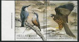 """GRECIA / GREECE / GRIECHENLAND /HELLAS -EUROPA 2019 -NATIONAL BIRDS.-""""AVES -BIRDS -VÖGEL-OISEAUX""""- SERIE Del CARNET A - 2019"""
