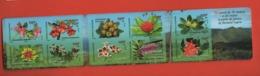 W47 Nouvelle Calédonie ** 2015 Carnet C1252  Fleurs Flore - Booklets
