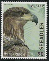 """AUSTRIA / ÖSTERREICH - EUROPA 2019 -NATIONAL BIRDS.-""""AVES -BIRDS -VÖGEL-OISEAUX""""- SERIE N - 2019"""