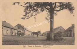 CPA Camp De Beverloo - Camp De Cavalerie - Bourg-Léopold - 1933 - TP 10c Glaneuse Gris-brun - Leopoldsburg (Camp De Beverloo)