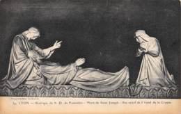 69 - LYON - Basilique De N.-D. De Fourvière - Mort De Saint-Joseph - Bas-relief De L'Autel De La Crypte - Lyon