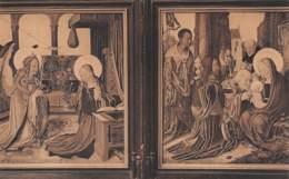 BRUGES - Eglise Notre-Dame - Maître Inconnu (éc. All. Du XVe S.) - L'Annonciation - L'Adoration Des Mages - Brugge