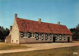 """CPM - Provinciedomein BOKRIJK - Openluchtmuseum - Herberg En """"wethuis"""" (= Gemeentehuis) """"De Dolfijn"""" Uit St-Rijkers - Genk"""