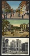 3 Tarjetas Postales De BARCELONA Conjunto. Set Of 3 Old Postcards SPAIN Espana 1910s - Barcelona