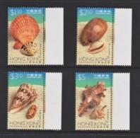 Hong Kong 1997 Sea Shells Set Of 4 MNH - 1997-... Région Administrative Chinoise