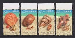 Hong Kong 1997 Sea Shells Set Of 4 MNH - - 1997-... Région Administrative Chinoise