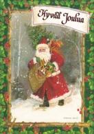 Santa Claus Bringing Christmas Toys - Kathryn White - Santa Claus