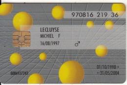 BELGIUM - SIS Cash Servises, Exp.date 31/05/04, Used - Cartes De Crédit (expiration Min. 10 Ans)