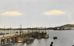 """Ireland / Eire, """"The Pier, Killybegs - Co. Donegal"""", 1920s, Cárta Poist, Boats - Donegal"""