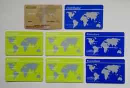 Poland Pologne 8 Oriflame Cosmetics Cards Cartes Director Distributor Consultant Directeur Distributeur Consultant - Autres Collections