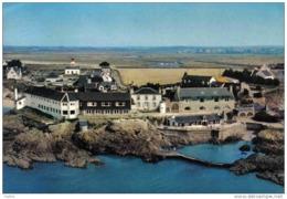 Carte Postale 56. La Pointe De Pen-Lan  Hotel Roche-Vilaine Vue D'avion Trés Beau Plan - Francia