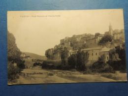 CPA  VAISON LA ROMAINE   PONT ROMAIN ET VIEILLE VILLE - Vaison La Romaine
