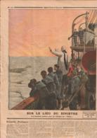 """JOURNAL LE PETIT JOURNAL 1912 N°1120, Titanic """"les Dernières Prières Pour Les Victimes, Collector!!! - Le Petit Journal"""