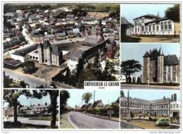 Carte Postale 60. Crévecoeur-le-Grand Trés Beau Plan - Crevecoeur Le Grand