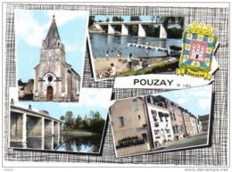 Carte Postale 37. Pouzay   Trés Beau Plan - Non Classificati