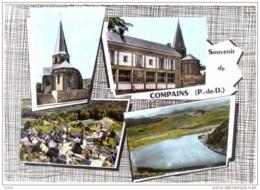 Carte Postale 63. Compains Très Beau Plan - Francia