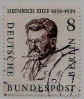 Berlin Poste Obl Yv:145 Mi:164 Heinrich Zille Peintre (cachet Rond) - Gebraucht