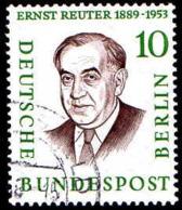 Berlin Poste Obl Yv:146 Mi:165 Ernst Reuter Maire De Berlin (Beau Cachet Rond) - Gebraucht