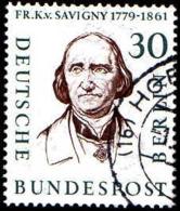 Berlin Poste Obl Yv:150 Mi:170 Friedrich Carl Von Savigny Juriste (TB Cachet Rond) - Gebraucht