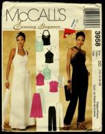 Vintage McCall`s Schnittmuster 3958  -  Damen-Tops, Hose & Rock Gefüttert -  Size DD  -  12-18 - Designermode