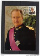BELGIQUE COB 2532 SUR CARTE MAXIMUM  1993 , ROI ALBERT II. (3CF98) - Maximum Cards