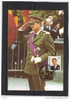 BELGIQUE COB 2532 SUR CARTE MAXIMUM  1993 , ROI ALBERT II. (3CF97) - Maximum Cards