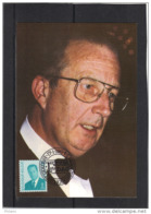 BELGIQUE COB 2535 SUR CARTE MAXIMUM  1994 , ROI ALBERT II. (3CF96) - Maximum Cards