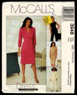 Vintage McCall`s Schnittmuster 3948  -  Damen-Jacke Weste Kleid Hose  -  Size GG  -  Größe 18-24 - Designermode