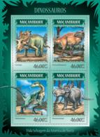 Mozambique 2014 Dinosaurs - Mozambique