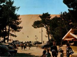 Arcachon L'arrivée A La Dune Du Pyla Carte Coupée  CPM Ou CPSM - Arcachon