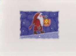 Brownie - Gnome - Elf Walking With Candle Votive - Eva Melhuish - Unicef - Kerstmis