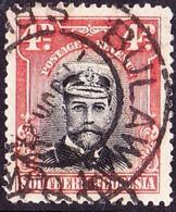 SOUTHERN RHODESIA 1924 KGV 4d Black & Red-Orange SG6 Used - Rhodesia Del Sud (...-1964)