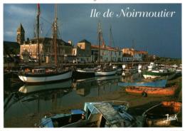 Ile De Noirmoutier Le Port Et L'eglise Saint Philibert 2000  CPM Ou CPSM - Ile De Noirmoutier