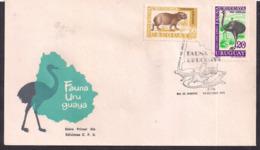 Uruguay - 1970 - 5 FDC - Cachets Spéciaux - Faune Uruguayenne - Briefmarken