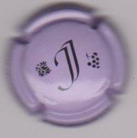 Capsule Champagne JOSSELIN Jean ( 11 ; Mauve Pâle Et Noir ) {S46-19} - Champagne
