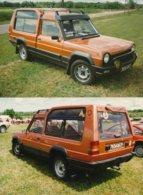 La Talbot Matra Rancho - Production 50 000 Exemplaires Tous Modèles Confondus - Lot De 2 Photos - Automobiles