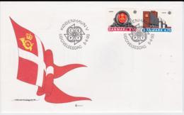 Denmark FDC 1990 Europa CEPT  (G105-48) - 1990