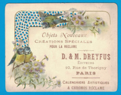 IMAGE OBJETS NOUVEAUX CREATIONS SPECIALES POUR LA RECLAME D. & M. DREYFUS EDITEURS 10 RUE DE THORIGNY PARIS & CHROMOS - Other
