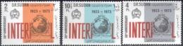 0423 ✅ Militia Interpol Police 1974 Sudan 3v Set MNH ** - Police - Gendarmerie
